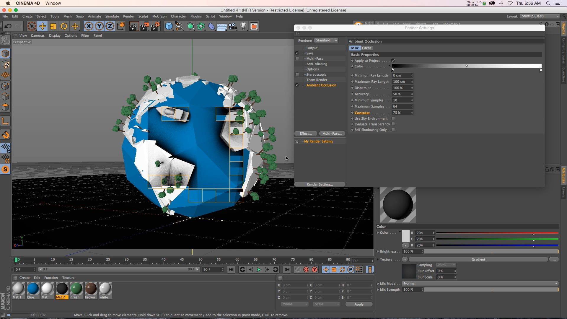 C4D Tutorial: Gain Control Over Your Ambient Occlusion
