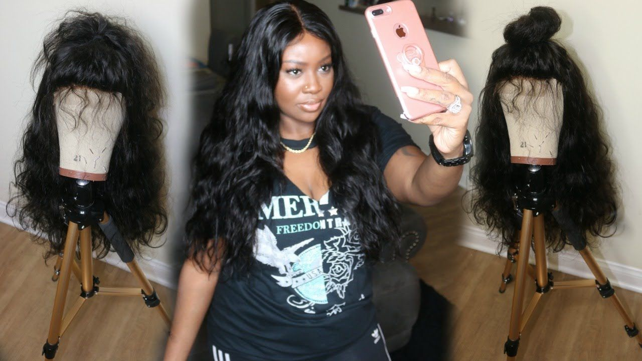 How to make a wig with lace closure beginner friendly