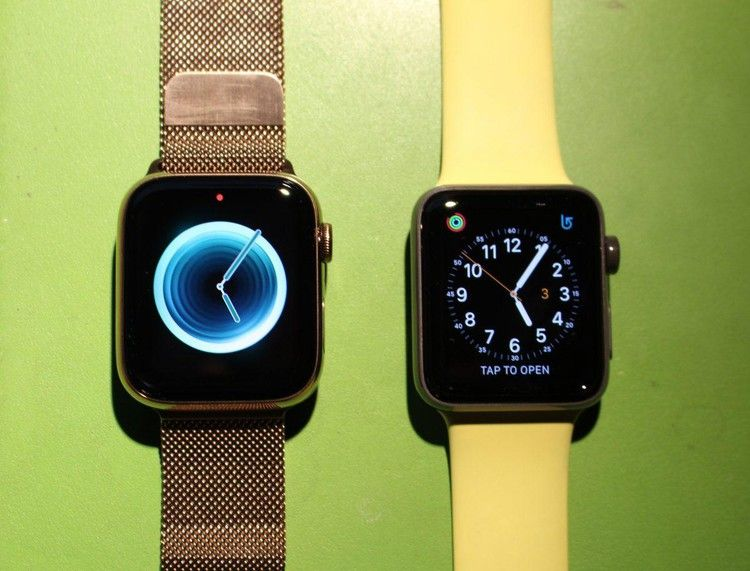 Compare And Contrast Apple Watch Series 4 Vs. Apple Watch