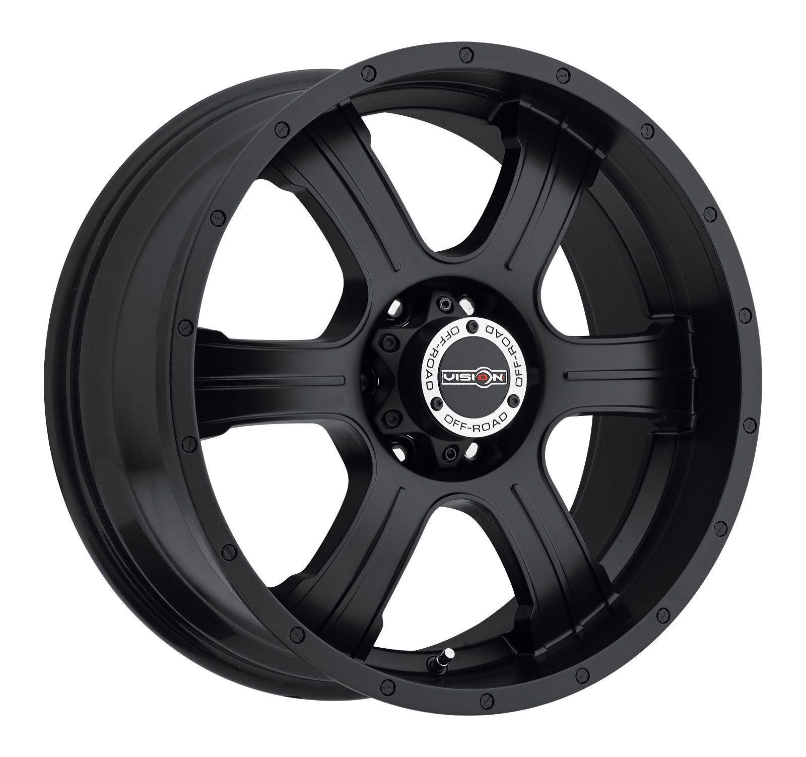 4 New 20 Wheels Rims For Isuzu Trooper 6 Lug 25060 Black Wheels Wheel Rims Truck Rims