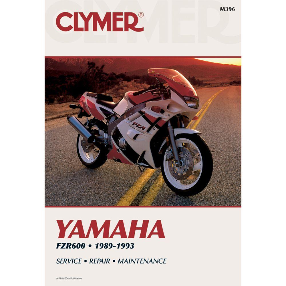 clymer yamaha fzr600 1989 1993 rh pinterest com 1994 Yamaha FZR 600 1993 Yamaha ATV