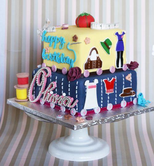 Enjoyable Birthday Cakes With Images Girl Cakes Fondant Cake Designs Cake Funny Birthday Cards Online Bapapcheapnameinfo
