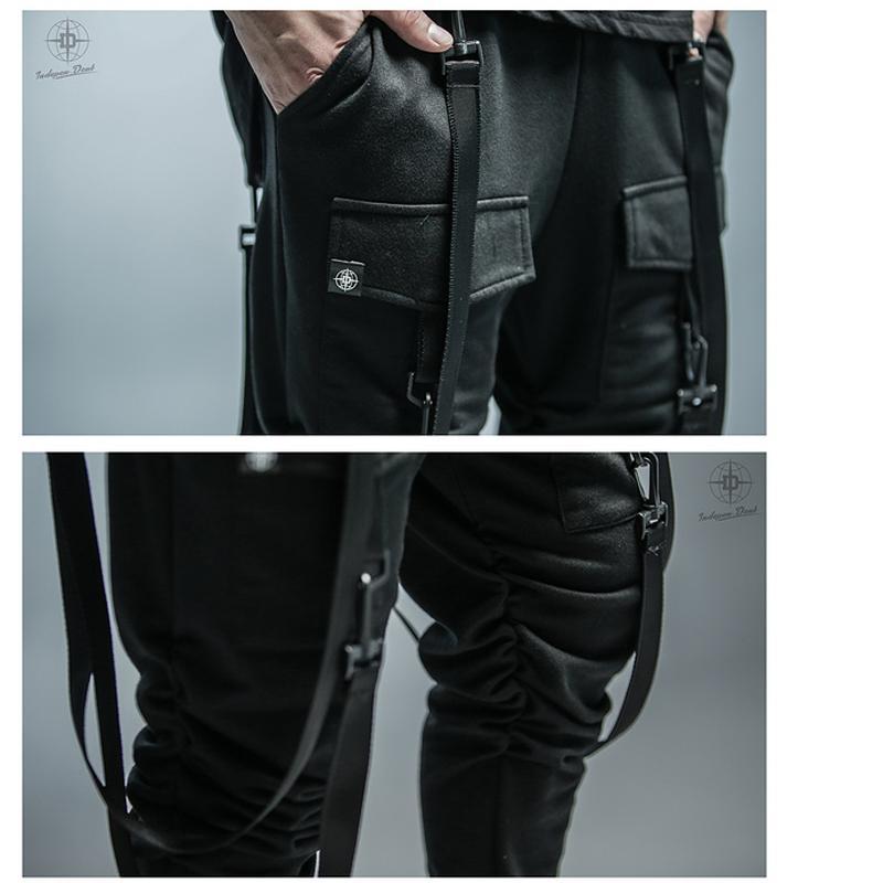62ec3a288c3 Dry Men s Pants pocket Full Length Men HIPHOP joggers Pants Plus Size  Trousers men belt women streetwear