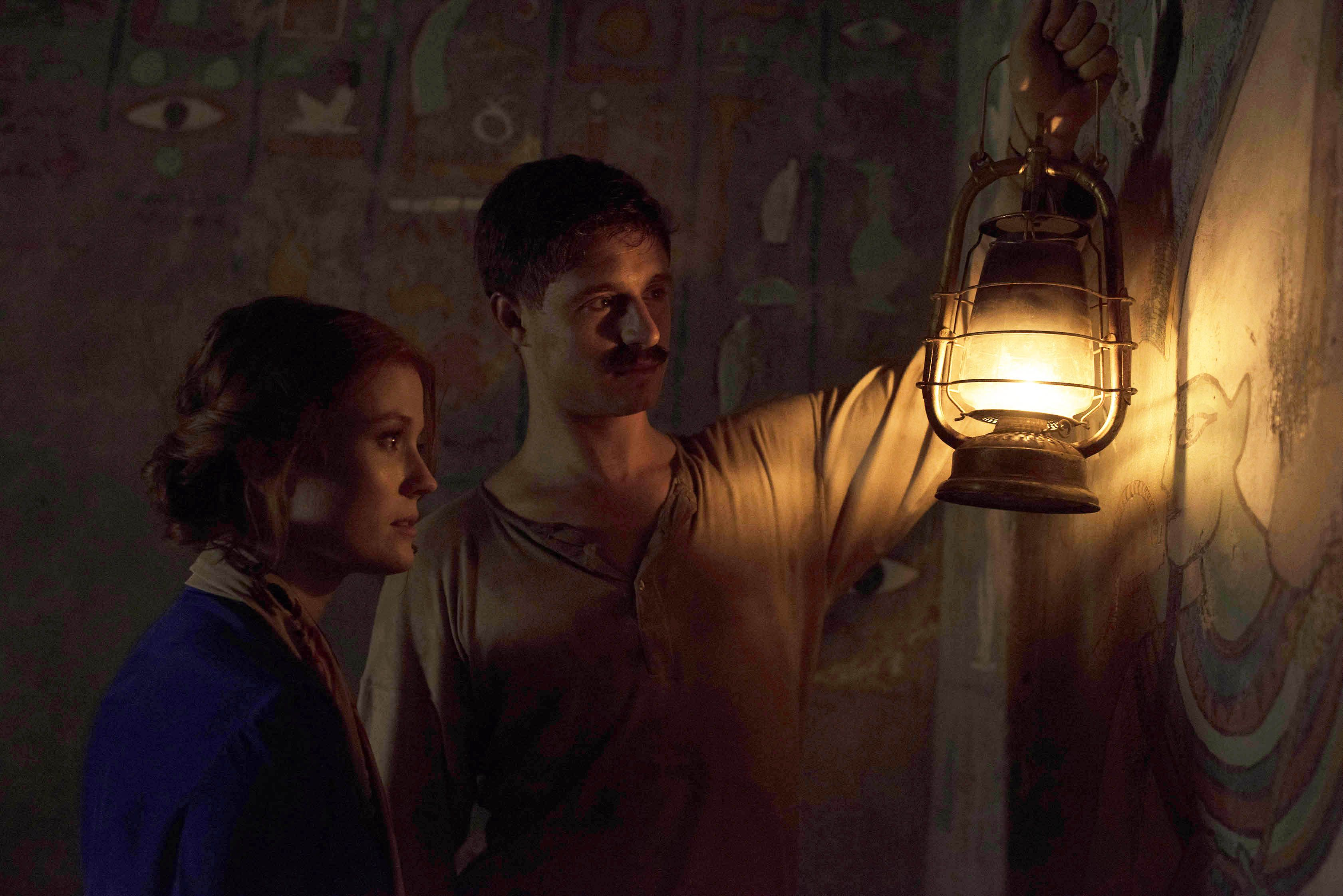 Amy Wren and Max Irons, Tutankhamun