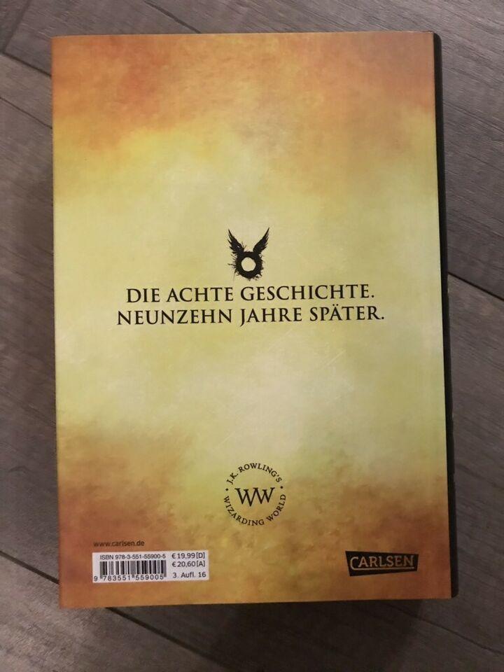 Harry Potter Und Das Verwunschene Kind In Nordrhein Westfalen Paderborn Das Verwunschene Kind Kinder Harry Potter