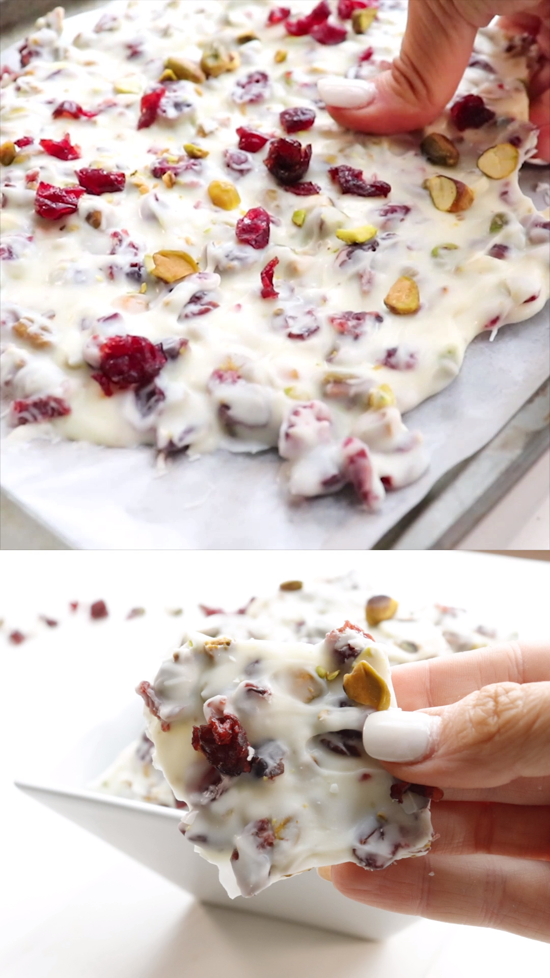 Christmas Bark (Cranberry Pistachio