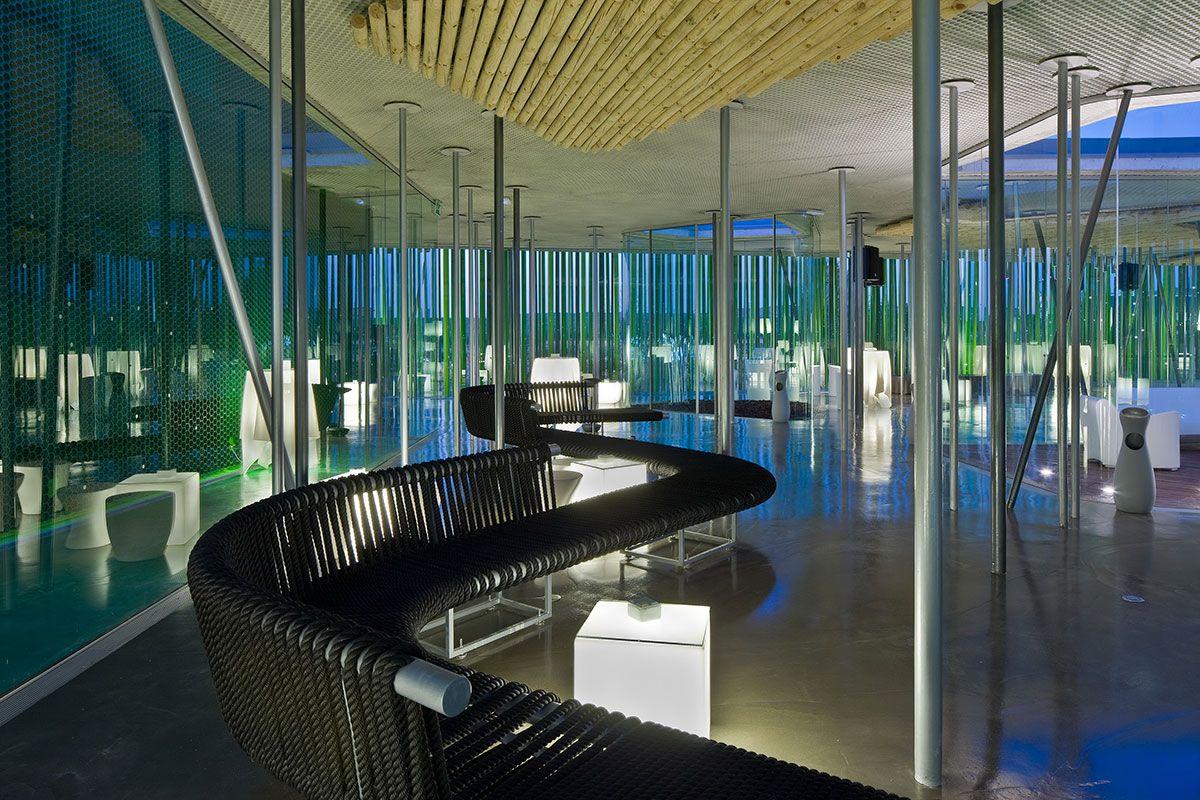 vaíllo y irigaray arquitectos / restaurante marisol lounge, cadreita