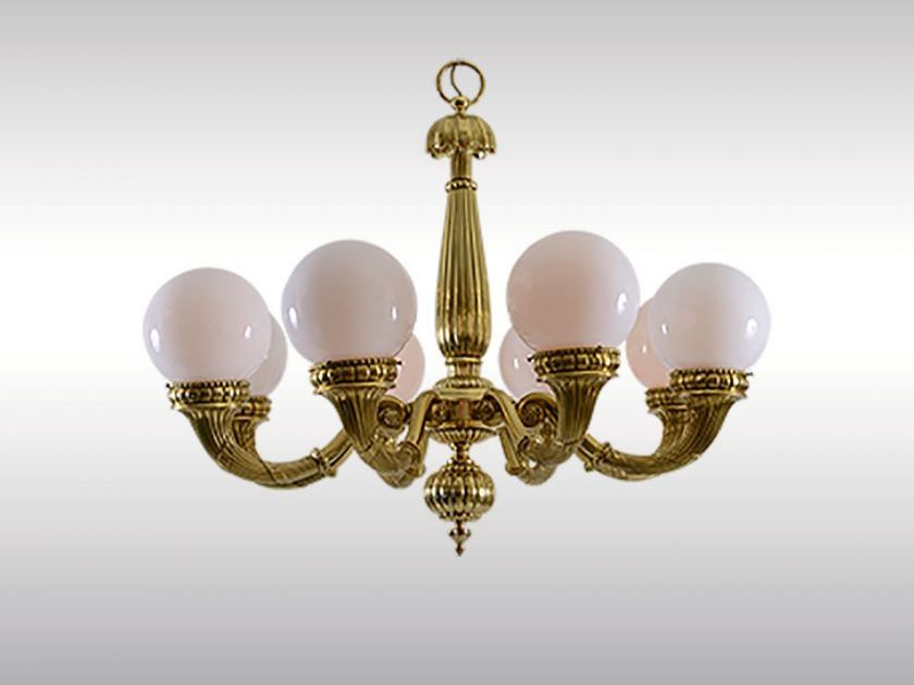 Classic style brass chandelier