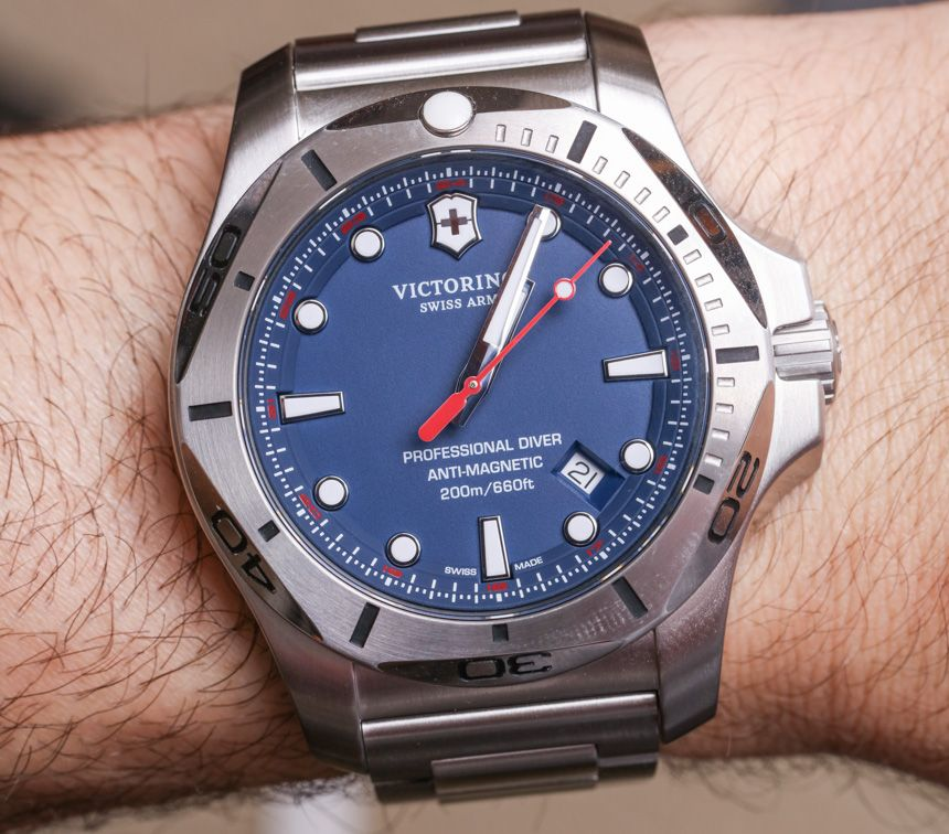 In 2016 Victorinox Swiss Army Debuted The Inox Professional
