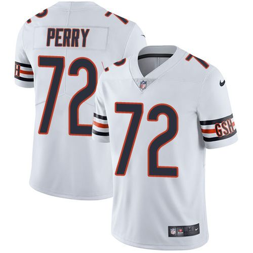 b8c606057 Nike Bears  72 William Perry White Men s Stitched NFL Vapor Untouchable  Limited Jersey
