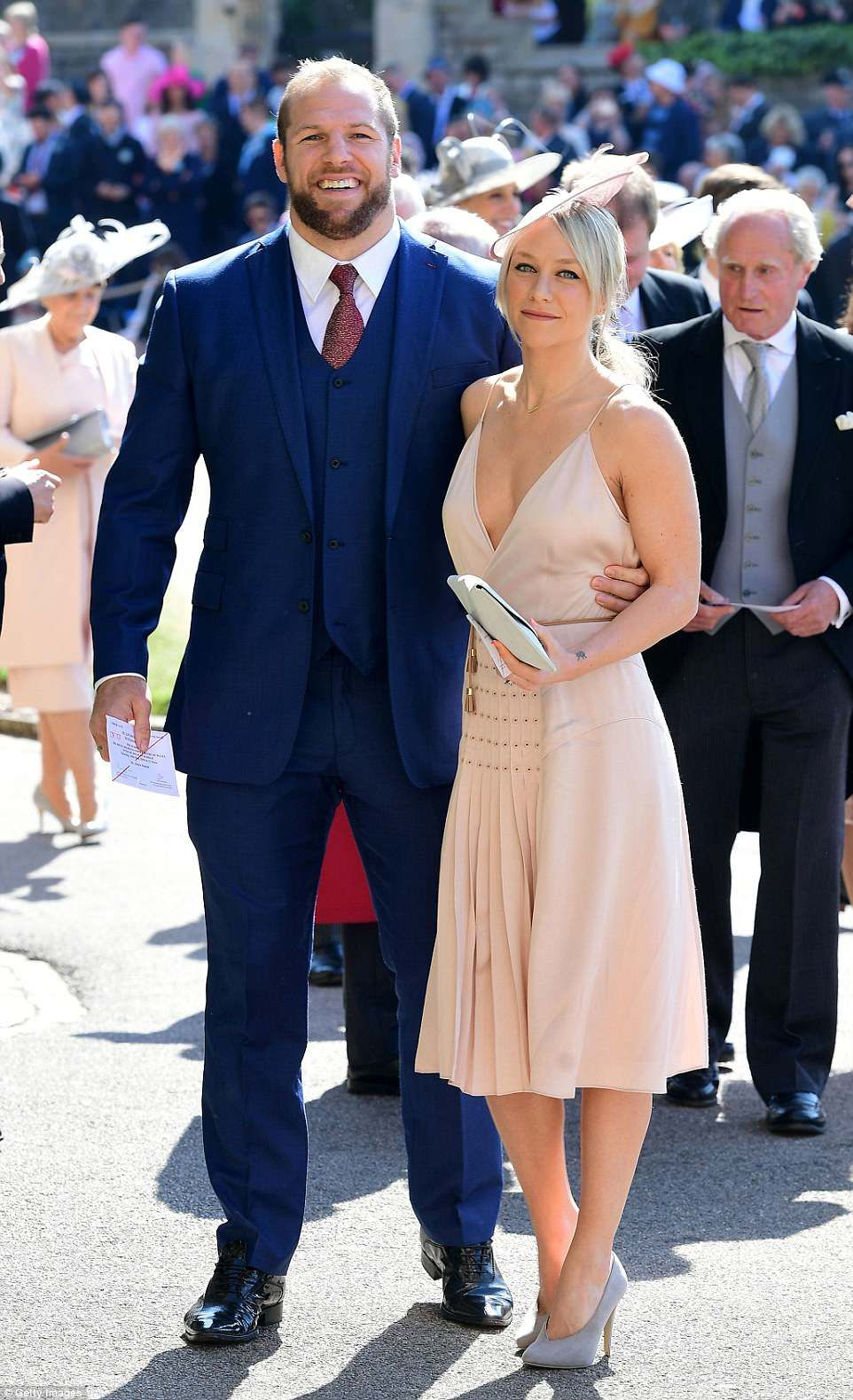 Tom Hardy Royal Wedding.George And Amal Clooney Turn Heads As They Attend The Royal Wedding
