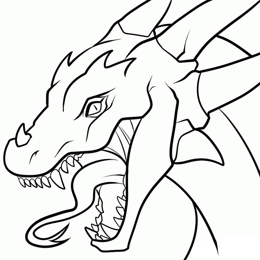 Dragon Head Amazing Drawing