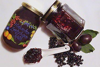 Holunder - Zwetschgen Marmelade, ein beliebtes Rezept aus der Kategorie Frühstück. Bewertungen: 66. Durchschnitt: Ø 4,5.