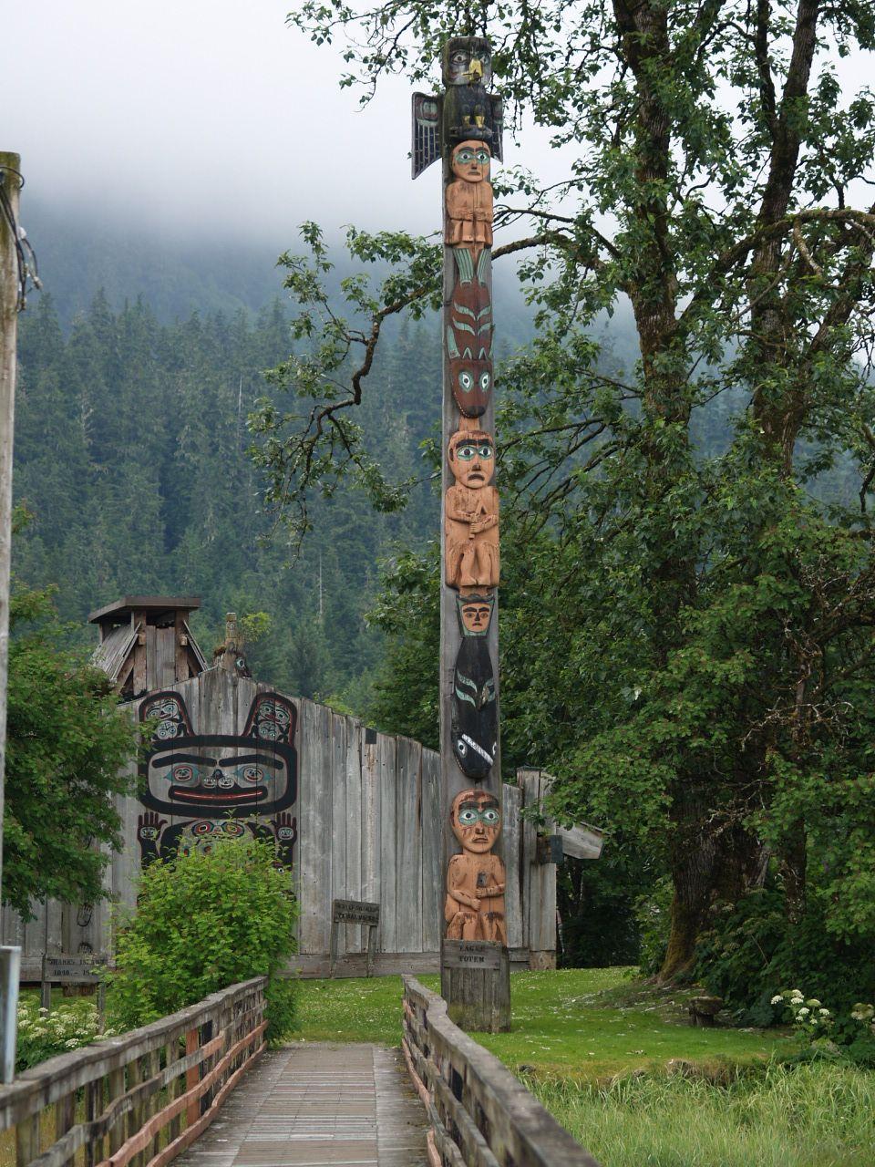 Chief Shakes Island Wrangell Southeast Alaska Alaska Alaska