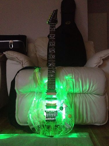 ibanez jem 20th anniversary signed by steve vai guitars plugged in in 2019 guitar music. Black Bedroom Furniture Sets. Home Design Ideas
