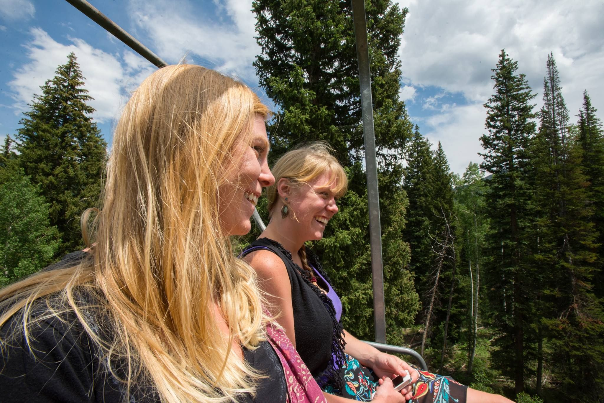 Scenic lift rides and hiking at Solitude Mountain Resort in Utah. Solitude opens for summer on June 13th.