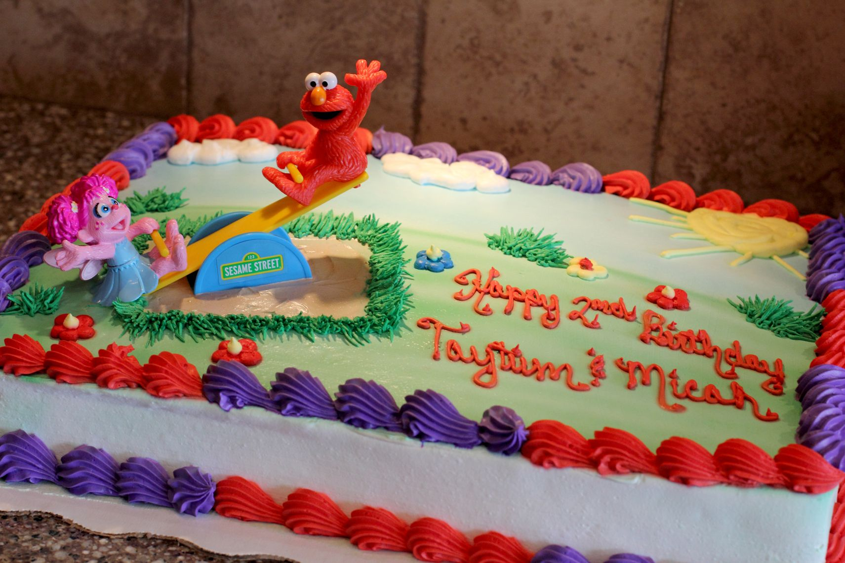 Elmo Abby Birthday Party