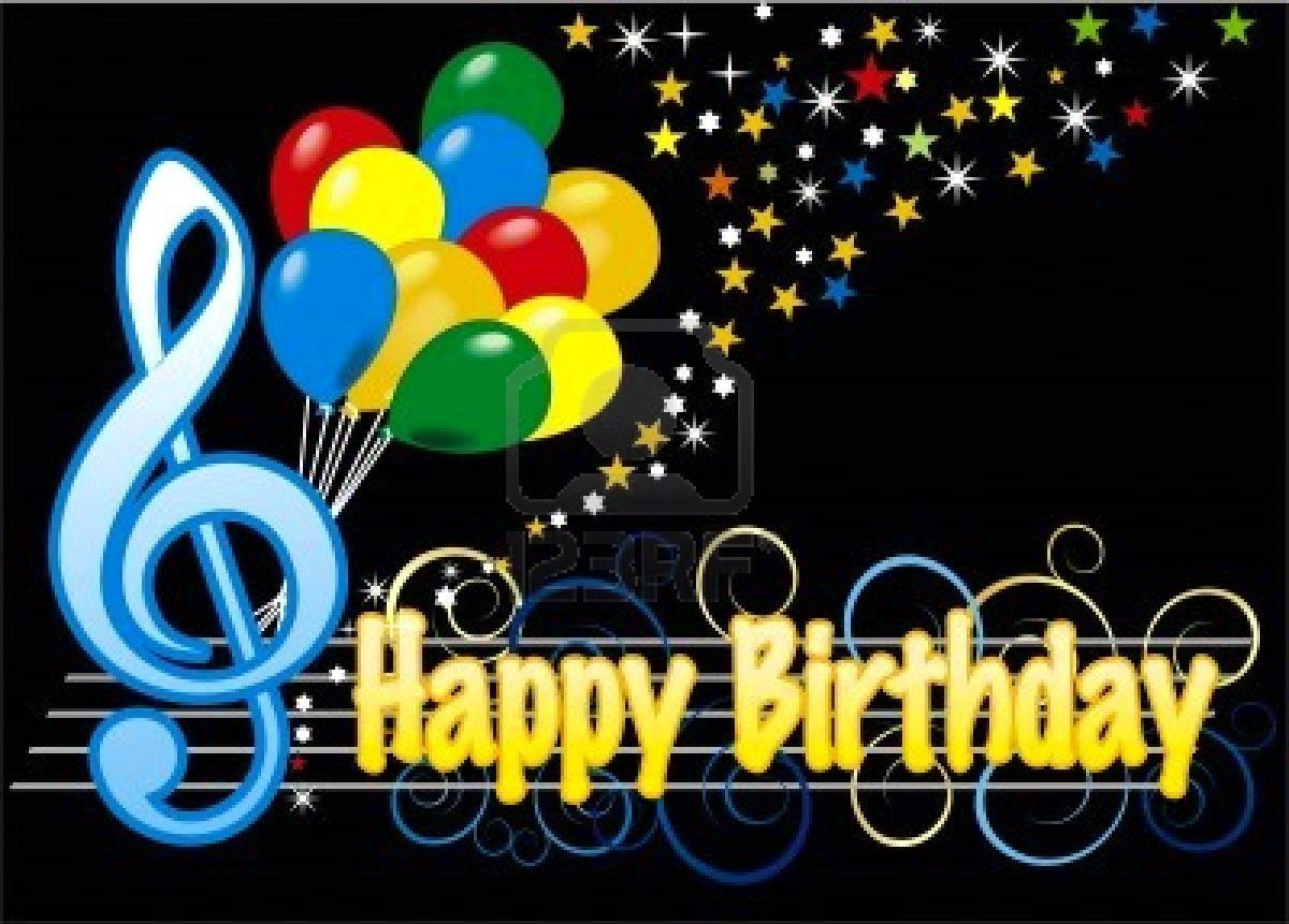 Happy Birthday To My Music Friends I Support Live Music Happy Birthday Wishes Animation For
