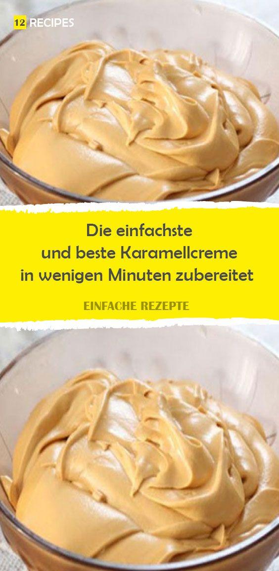Die einfachste und beste Karamellcreme in wenigen Minuten zubereitet #creamfrosting