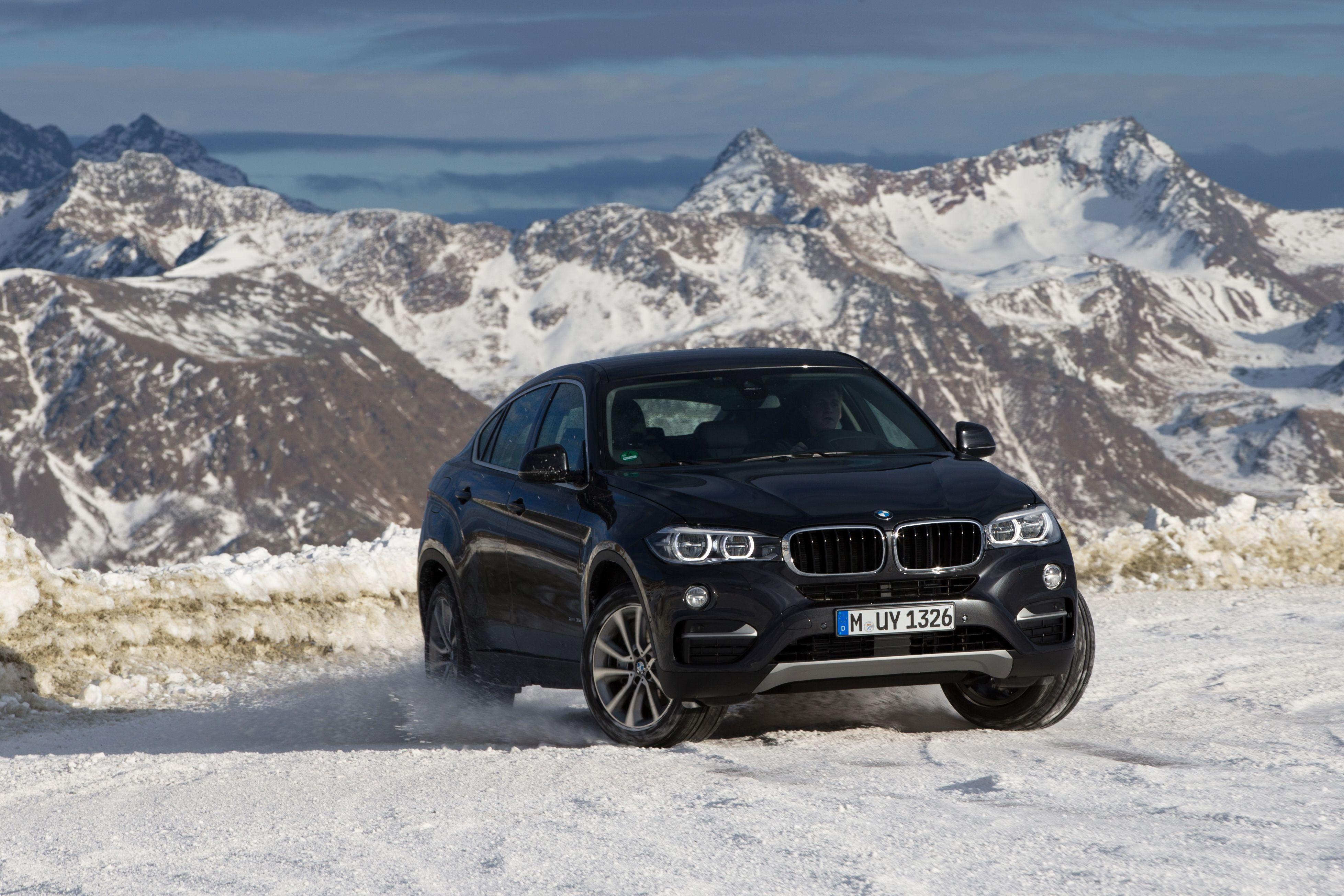 BMW #F16 #X6 #xDrive35i #Snow #Drift