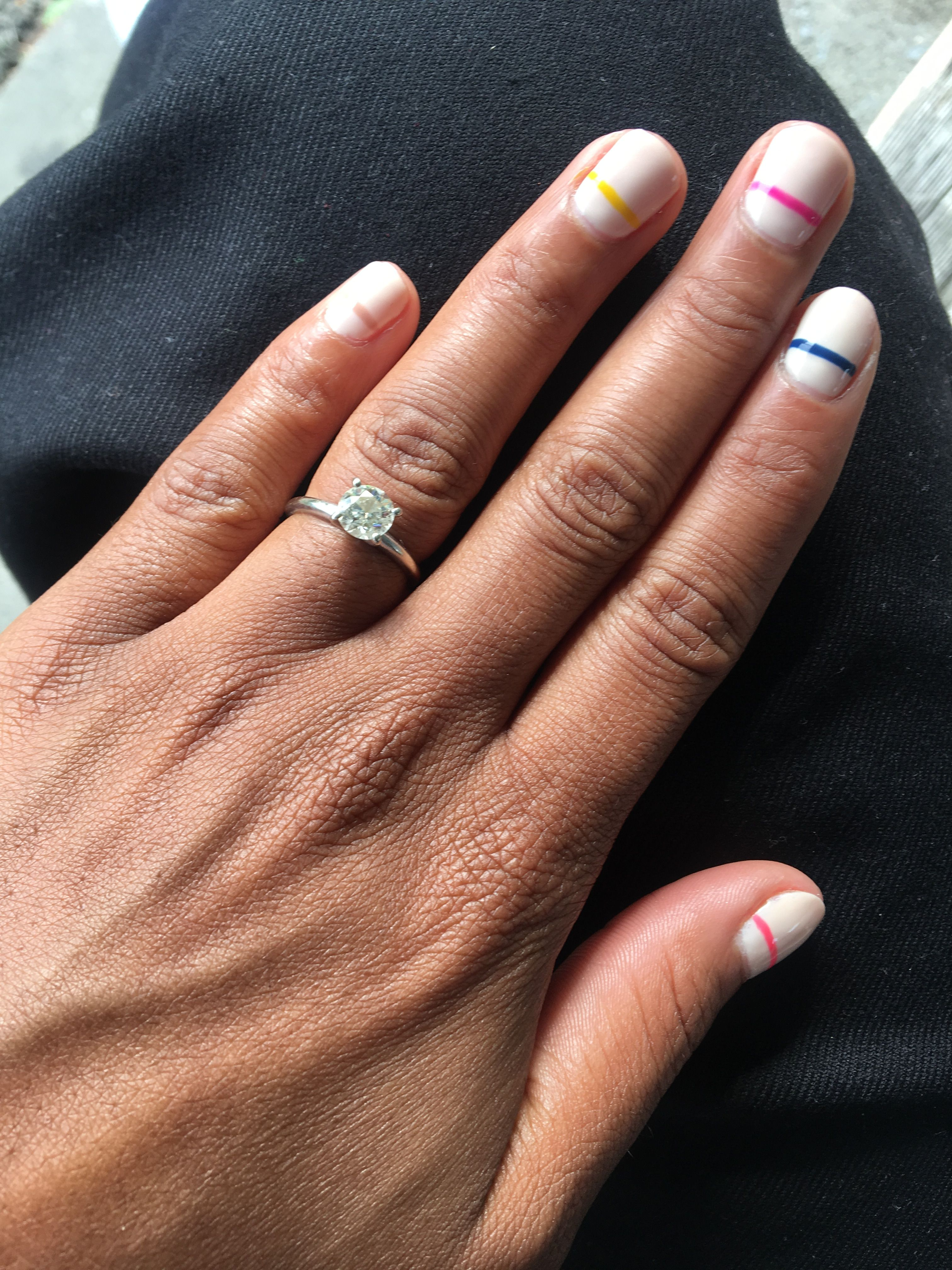 Nude Nails With Design Nailed Pinterest