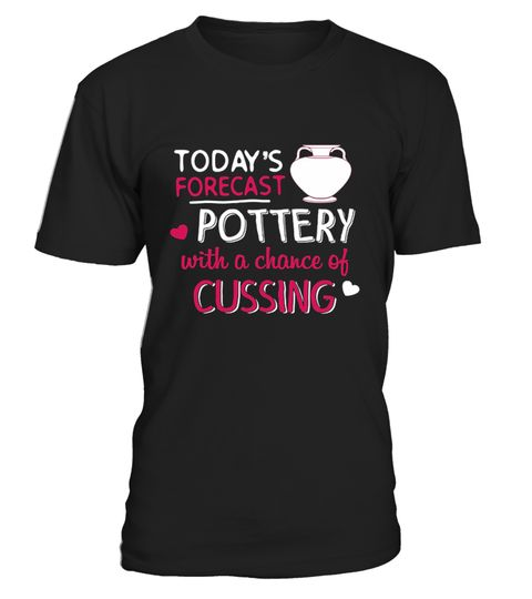 """# Baker T shirt - Today's Forecast Potter4 .  ** RELAUNCHED -by popular demand**This is the LASTtime print!Don't miss out!Secured payment via Visa / Mastercard / Amex / PayPalHow to order:1. Click the drop down menu and select your style2. Click""""Buy it now""""3. Select size and quantity4. Enter shipping and billing informationOrder 2 or more and SAVE on shipping.   Baker T   shirt - Today's Forecast Pottery Decorating With A C"""