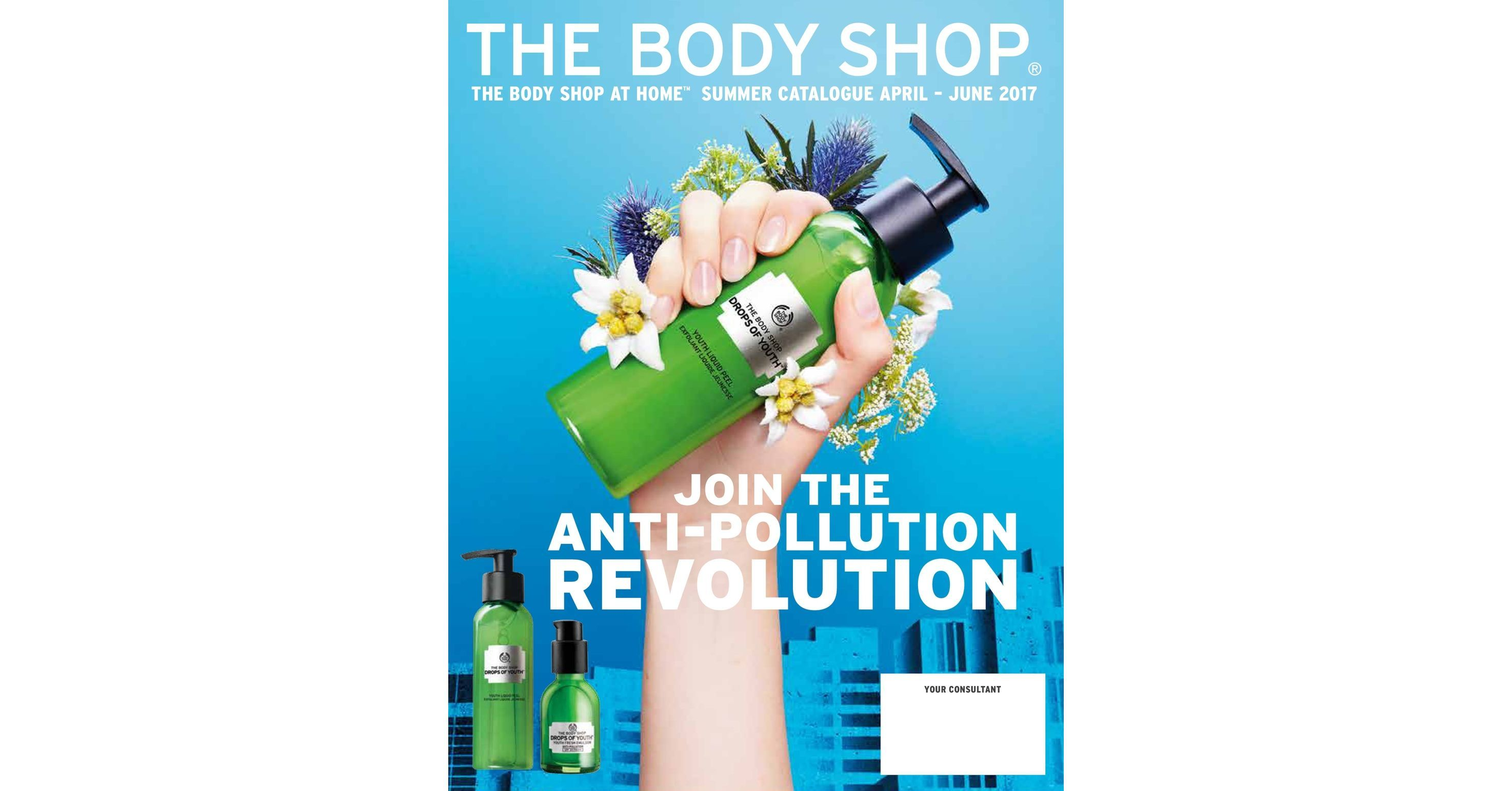 THE BODY SHOP AT HOME 2017 SUMMER CATALOGUE  https://www.facebook.com/groups/1272633339457788/