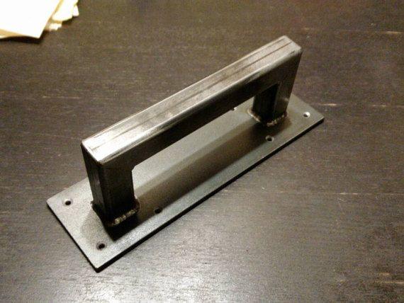 Très 1 « porte de grange en acier poignée - 8 « - 24 » | industriel  CE22