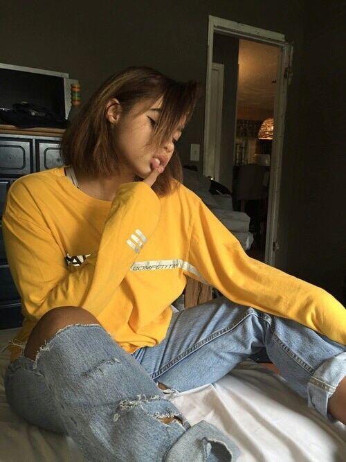 That Mustard Yellow Aesthetic | Hair | Pinterest