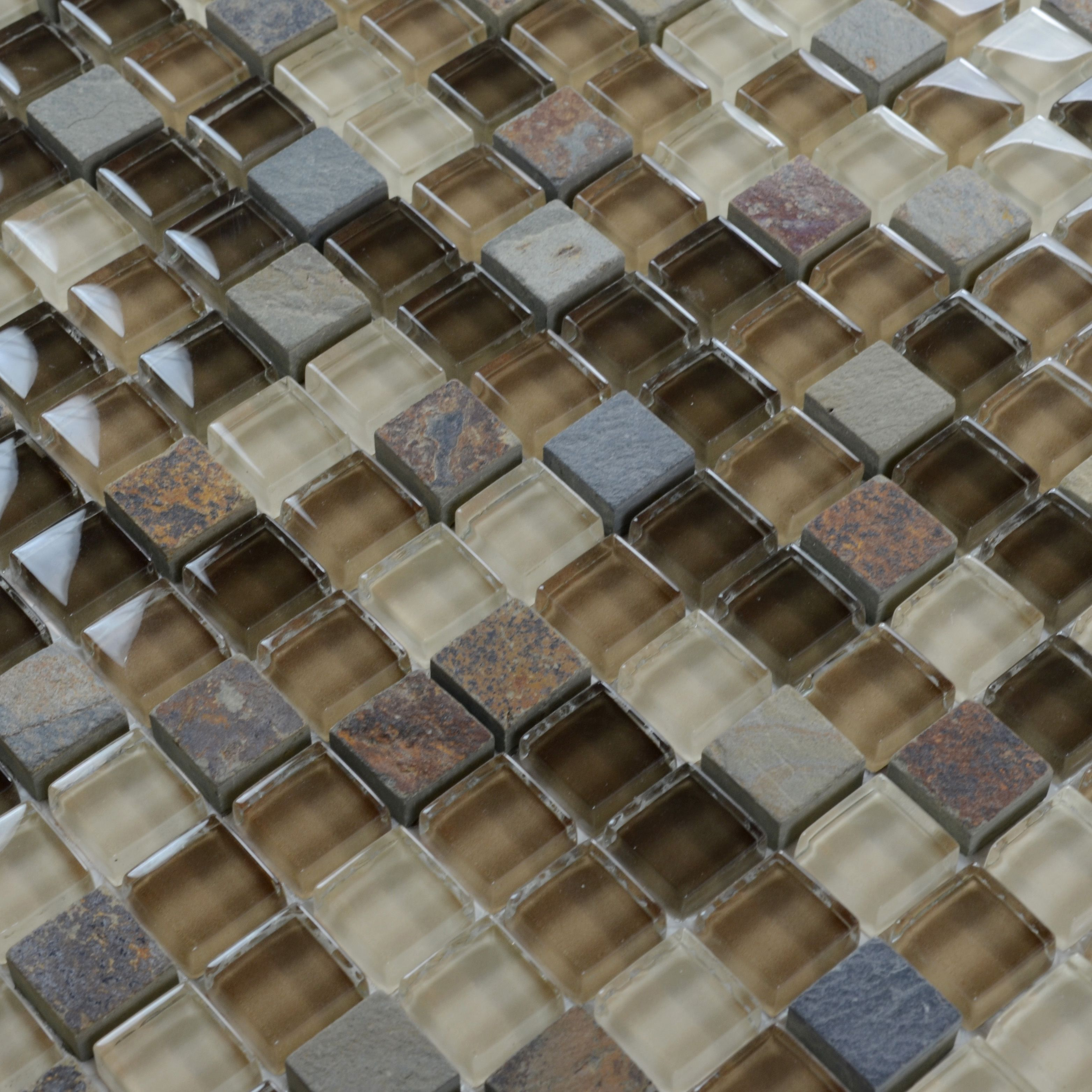 Stone glass mosaic tile ice crack glass with marble backsplash stone glass mosaic tile ice crack glass with marble backsplash wall stickers floor tiles sg130 dailygadgetfo Gallery