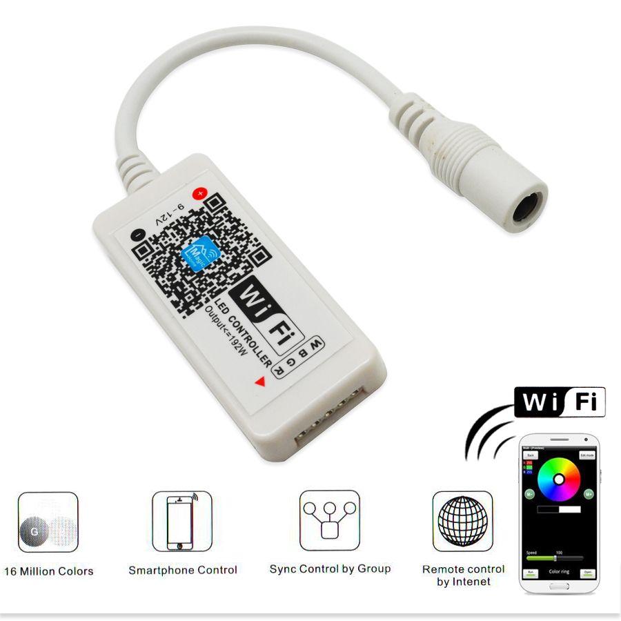 DC12V Führte Wlan Controller RGB/RGBW Mini Led-Controller für RGB ...