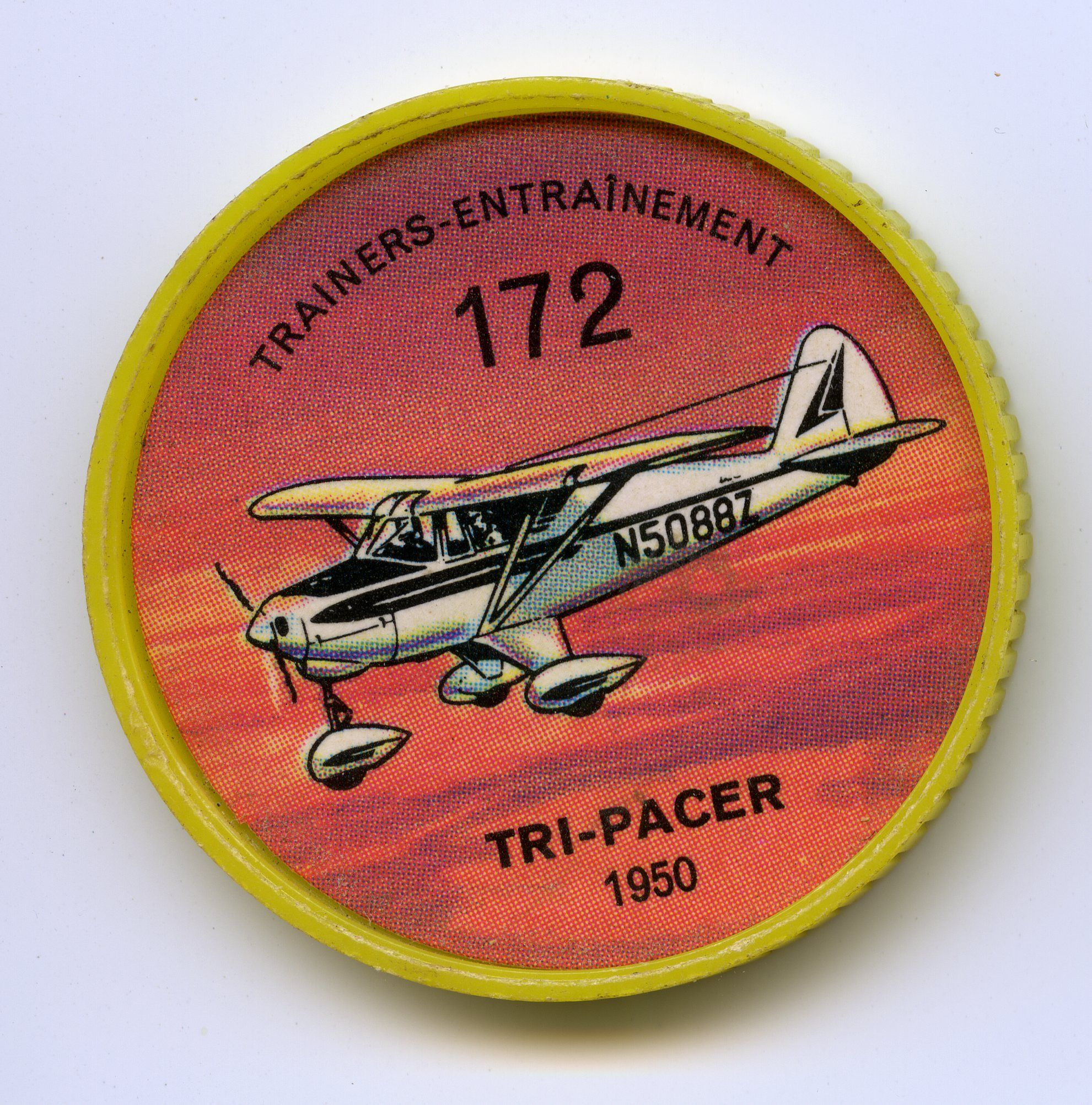 Jell O Coin 172 Tri Pacer 1950 Unquestionably One Of