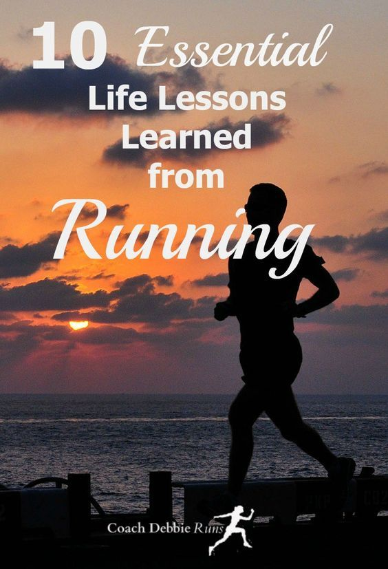 No matter what our age, adult or teenager, there are essential life lessons we can learn from running.