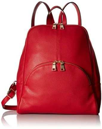 92f5e2d9ea4c12 Scarleton Chic Casual Backpack- Ultra soft high quality synthetic leather  with fabric lining. Top zipper closure. #backpack #casual