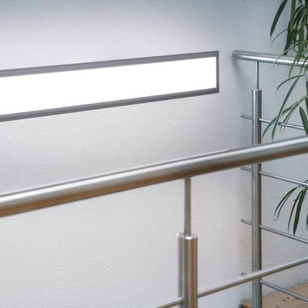Schön Ultraslim LED Panel, 180 LEDs, 120 X 15cm, 36W Warmweiß
