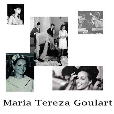 a elegancia da primeira Dama Maria Tereza Goulart - Pesquisa Google Quando seu marido, João Goulart foi empossado presidente do Brasil, Maria Tereza tinha apenas 21 anos. Foi a mais bela primeira dama ...