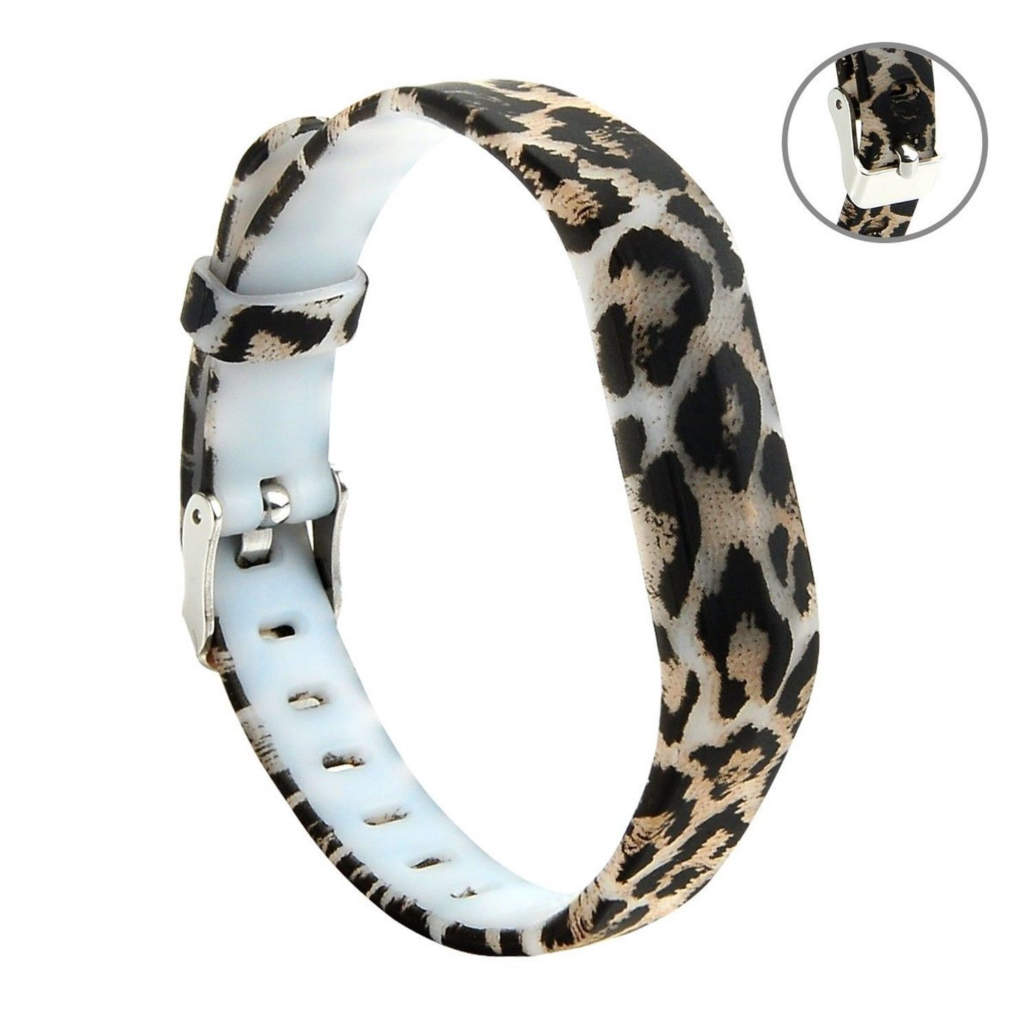 Leaping Leopard Wristband Band Strap Bracelet Accessories For Fitbit Flex 2 Ebay Accessories Bracelets Accessories Wristband
