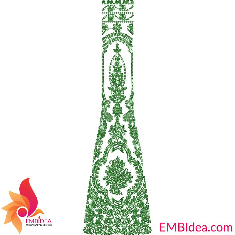 Cording Patli Kali Embroidery Design Free Download From Embidea