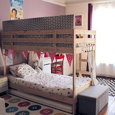 S parer une chambre pour 2 enfants avec un lit superpos d co chambre enfant une chambre - Chambre pour 2 enfants ...