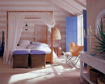 Schlafzimmer: Sanfte Wohnlichkeit - Wohnwelten - [LIVING AT HOME ...