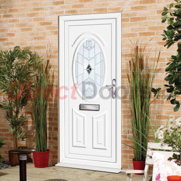 External Pvc Doon Verona Door White Doors