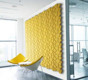 Superior Sustainable Materials   Organic Blocks, Wall Decor Crafted In Natural Cork,  Beehive Style,