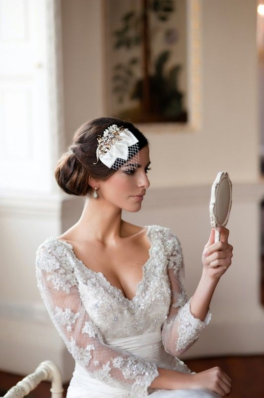 finding the right wedding hairpiece