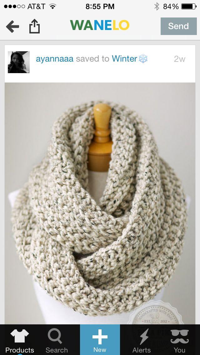 Knitted Scarf Accessories Pinterest Mitten Gloves Loom