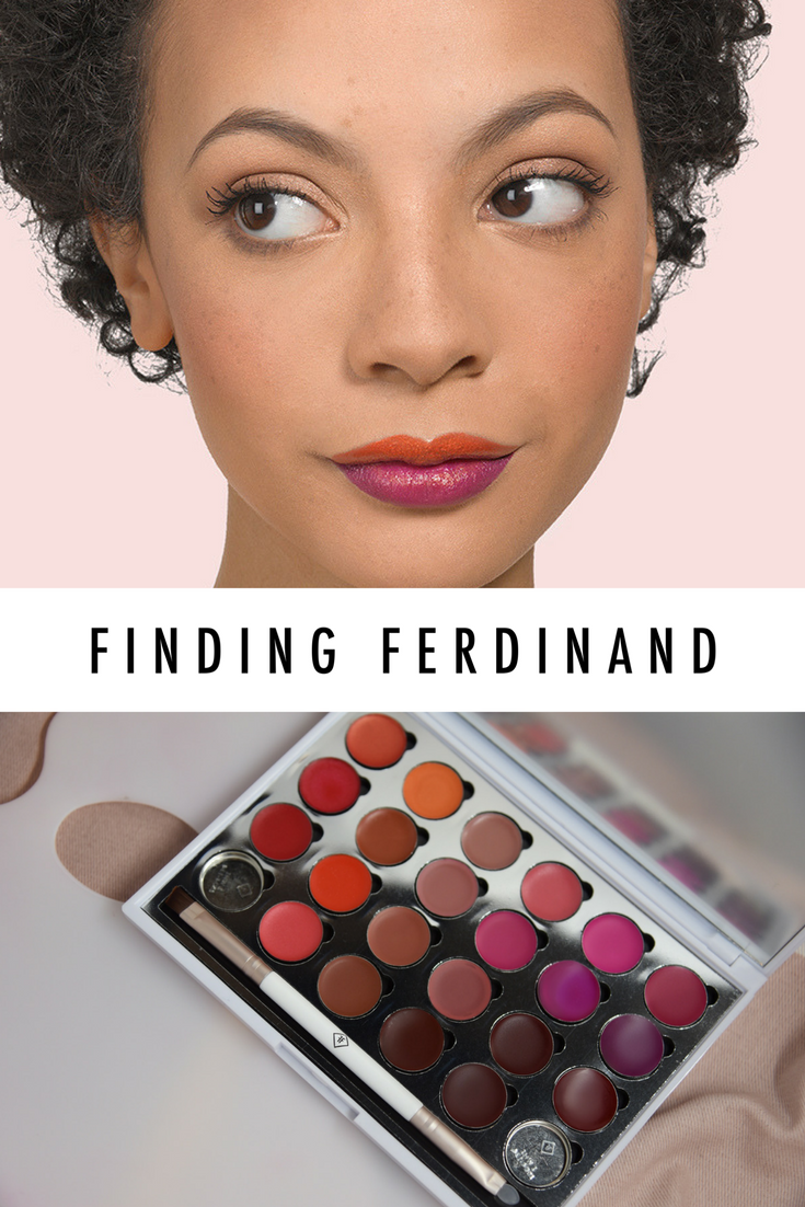More than a lip palette. Create your own lipstick color by
