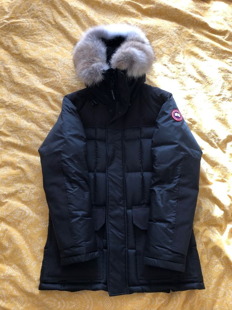 Canada Goose Size M Mens Black Callaghan Parka With Coyote Fur No Reserve Fashion Clothing Shoes Accessories Mensclothi Coyote Fur Canada Goose Mens Parka