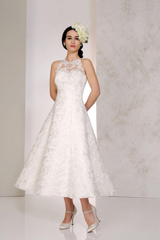 tea length wedding dresses the prettiest designs for vintage brides
