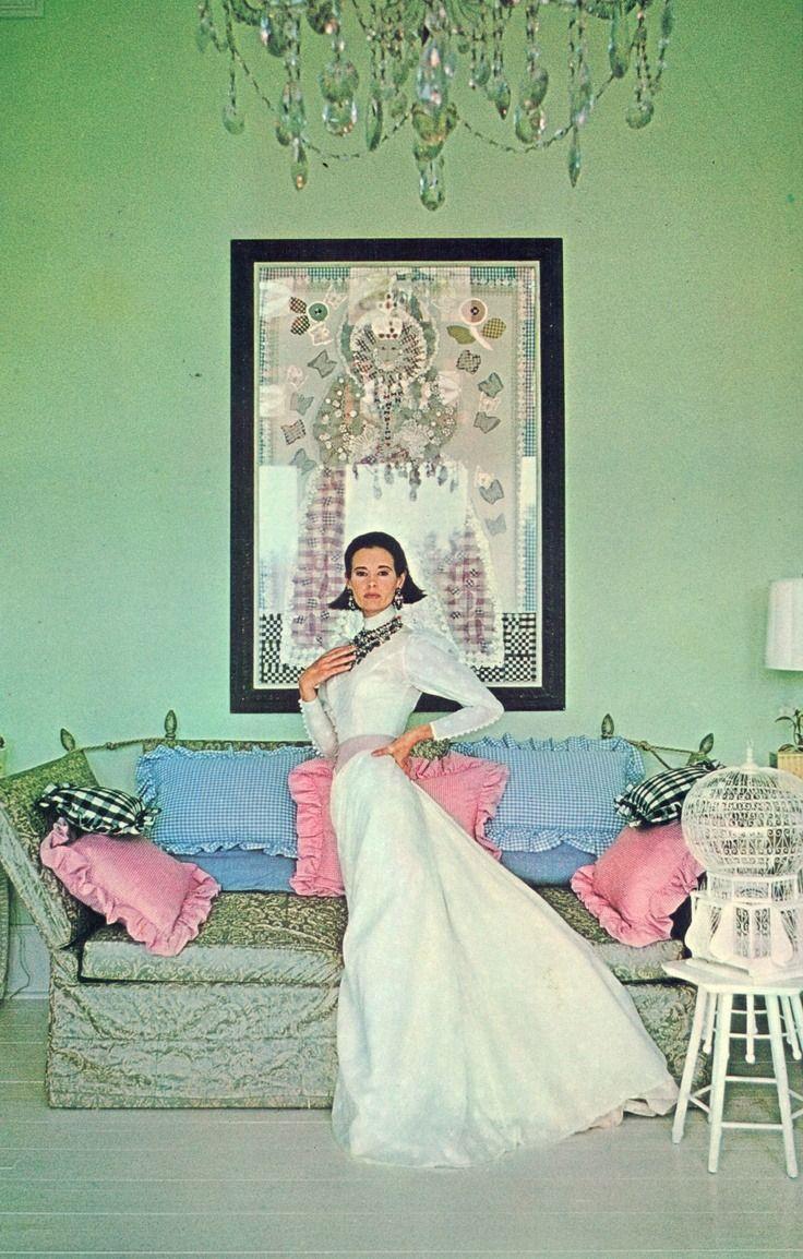 Gloria Vanderbilt photographed by Francesco Scavullo