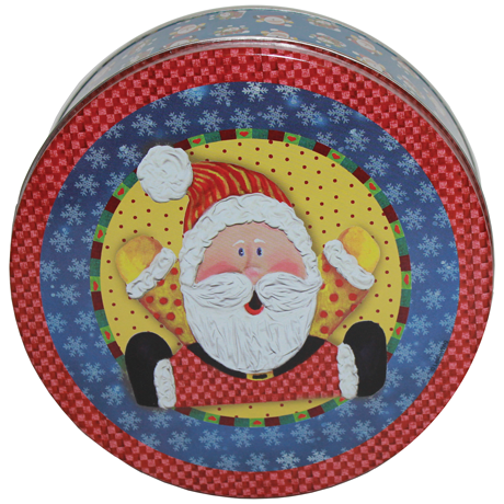 Joyful Santa ©Leslie Wing