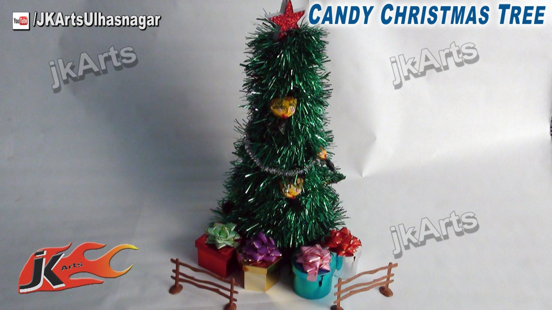 How to make Christmas Tree from garland DIY Christmas decorations